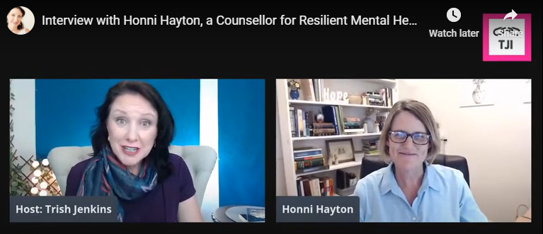 Honni Hayton interview on Counselling