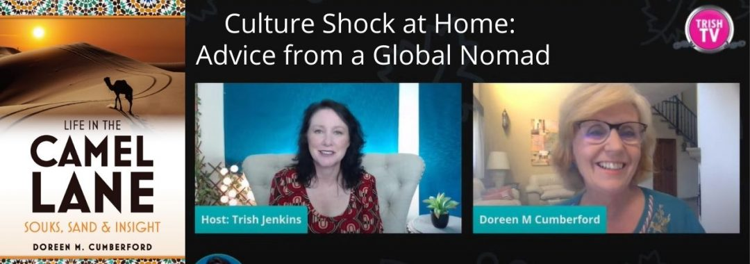 Interview on Culture shock stuck at home? Advice from a Global Nomad.