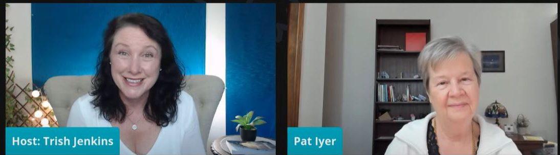 Trish interviews Pat Iyer