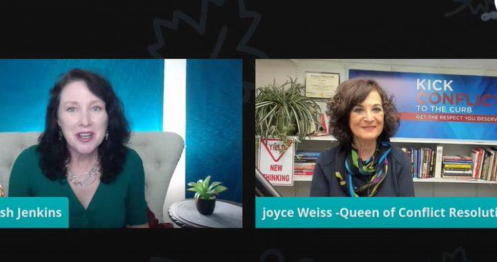 Trish Jenkins interviews Joyce Weiss on Conflict Resolution