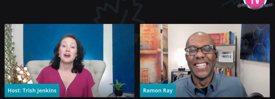 Trish Jenkins interview with the entertaining Ramon Ray: Think Big. Think Strategic.