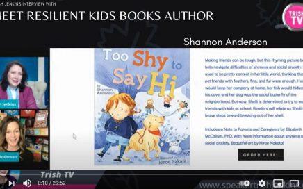 Meet Resilient Kids Books Author Shannon Anderson