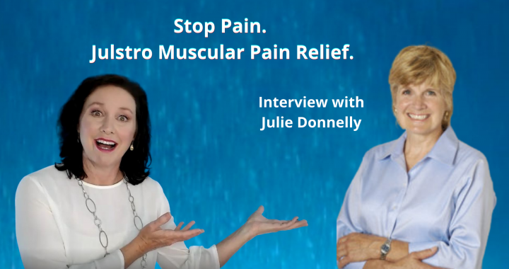 Stop Pain. Interview with Julie Donnelly