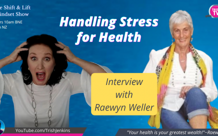 How to Handle Stress for Health. Trish TV interview with Raewyn Weller